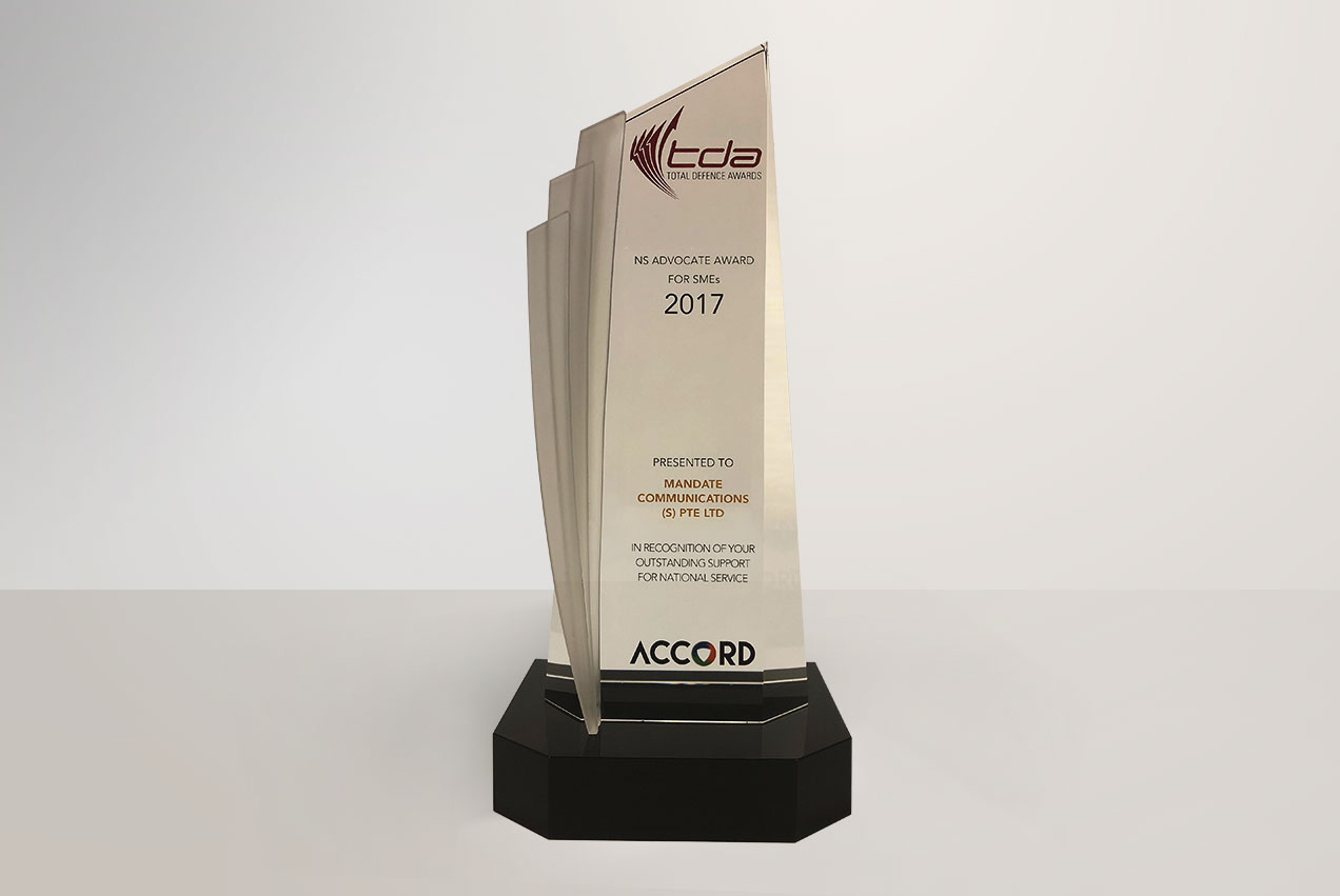 TDA - NS Advocate Award For SMEs 2017